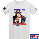 AP2020 Outdoors Uncle Sam 2A T-Shirt T-Shirts Small / White by Ballistic Ink - Made in America USA