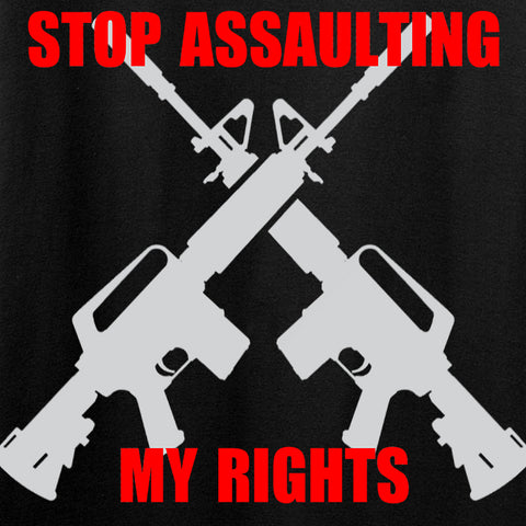 AP2020 Outdoors Stop Assaulting My Rights Tank Tanks [variant_title] by Ballistic Ink - Made in America USA