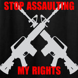 AP2020 Outdoors Stop Assaulting My Rights T-Shirt T-Shirts [variant_title] by Ballistic Ink - Made in America USA