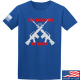 AP2020 Outdoors Stop Assaulting My Rights T-Shirt T-Shirts Small / Blue by Ballistic Ink - Made in America USA