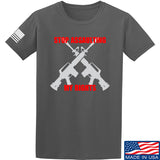 AP2020 Outdoors Stop Assaulting My Rights T-Shirt T-Shirts Small / Charcoal by Ballistic Ink - Made in America USA