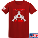 AP2020 Outdoors Stop Assaulting My Rights T-Shirt T-Shirts Small / Red by Ballistic Ink - Made in America USA
