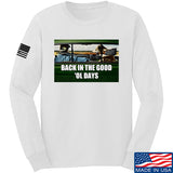 AP2020 Outdoors The Good 'Ol Days Long Sleeve T-Shirt Long Sleeve Small / White by Ballistic Ink - Made in America USA