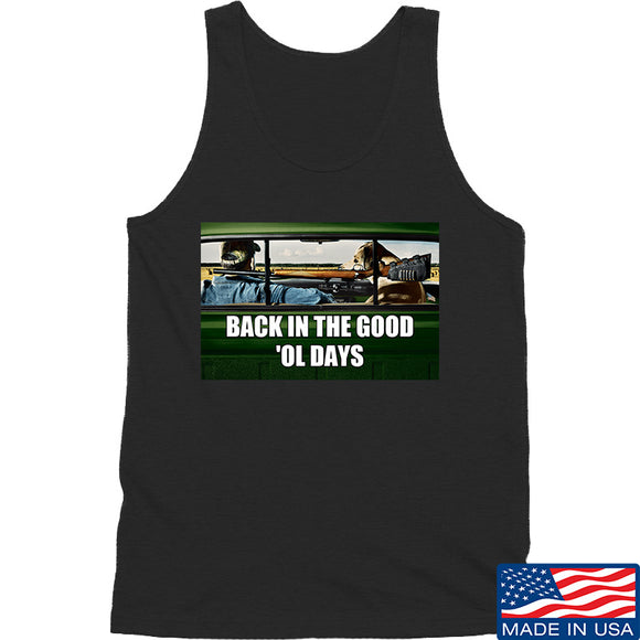 AP2020 Outdoors The Good 'Ol Days Tank Tanks SMALL / Black by Ballistic Ink - Made in America USA