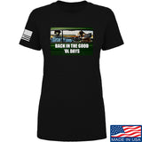 AP2020 Outdoors Ladies The Good 'Ol Days T-Shirt T-Shirts SMALL / Black by Ballistic Ink - Made in America USA