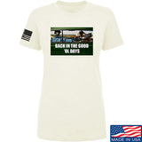AP2020 Outdoors Ladies The Good 'Ol Days T-Shirt T-Shirts SMALL / Cream by Ballistic Ink - Made in America USA
