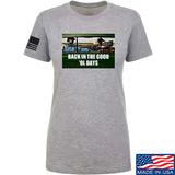 AP2020 Outdoors Ladies The Good 'Ol Days T-Shirt T-Shirts SMALL / Light Grey by Ballistic Ink - Made in America USA