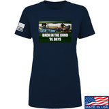 AP2020 Outdoors Ladies The Good 'Ol Days T-Shirt T-Shirts SMALL / Navy by Ballistic Ink - Made in America USA