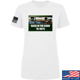 AP2020 Outdoors Ladies The Good 'Ol Days T-Shirt T-Shirts SMALL / White by Ballistic Ink - Made in America USA