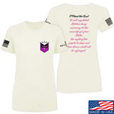 American Gun Chic Ladies I Plead the 2nd T-Shirt T-Shirts SMALL / Cream by Ballistic Ink - Made in America USA
