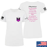 American Gun Chic Ladies I Plead the 2nd T-Shirt T-Shirts SMALL / White by Ballistic Ink - Made in America USA