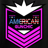 American Gun Chic American Gun Chic Badge Logo Tank Tanks [variant_title] by Ballistic Ink - Made in America USA