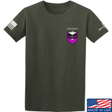 American Gun Chic American Gun Chic Badge Chest Logo T-Shirt T-Shirts Small / Military Green by Ballistic Ink - Made in America USA