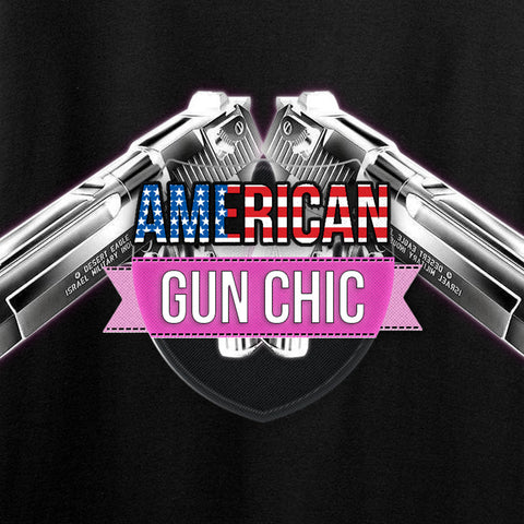 American Gun Chic American Gun Chic Logo Tank Tanks [variant_title] by Ballistic Ink - Made in America USA