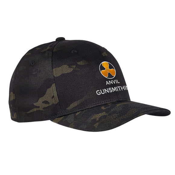Anvil Gunsmithing Anvil Gunsmithing Logo Flexfit® Multicam® Trucker Cap Headwear [variant_title] by Ballistic Ink - Made in America USA