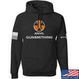 Anvil Gunsmithing Anvil Gunsmithing Logo Hoodie Hoodies Small / Black by Ballistic Ink - Made in America USA