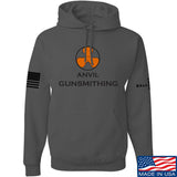 Anvil Gunsmithing Anvil Gunsmithing Logo Hoodie Hoodies Small / Charcoal by Ballistic Ink - Made in America USA