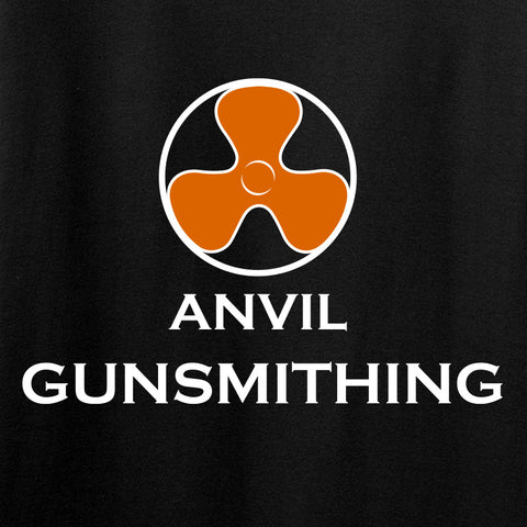 Anvil Gunsmithing Anvil Gunsmithing Logo Long Sleeve T-Shirt Long Sleeve [variant_title] by Ballistic Ink - Made in America USA