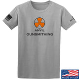 Anvil Gunsmithing Anvil Gunsmithing Logo T-Shirt T-Shirts Small / Light Grey by Ballistic Ink - Made in America USA