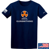 Anvil Gunsmithing Anvil Gunsmithing Logo T-Shirt T-Shirts Small / Navy by Ballistic Ink - Made in America USA
