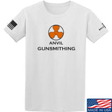 Anvil Gunsmithing Anvil Gunsmithing Logo T-Shirt T-Shirts Small / White by Ballistic Ink - Made in America USA