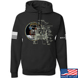 Ballistic Ink Apollo Lunar Tech Hoodie Hoodies Small / Black by Ballistic Ink - Made in America USA