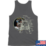 9mmsmg Apollo Lunar Tech Tank Tanks SMALL / Charcoal by Ballistic Ink - Made in America USA