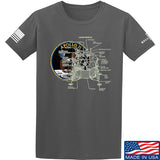 9mmsmg Apollo Lunar Tech T-Shirt T-Shirts Small / Charcoal by Ballistic Ink - Made in America USA