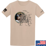 9mmsmg Apollo Lunar Tech T-Shirt T-Shirts Small / Sand by Ballistic Ink - Made in America USA