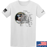 9mmsmg Apollo Lunar Tech T-Shirt T-Shirts Small / White by Ballistic Ink - Made in America USA