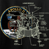 9mmsmg Ladies Apollo Lunar Tech T-Shirt T-Shirts [variant_title] by Ballistic Ink - Made in America USA