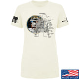 22plinkster Ladies Apollo Lunar Tech T-Shirt T-Shirts SMALL / Cream by Ballistic Ink - Made in America USA