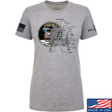 22plinkster Ladies Apollo Lunar Tech T-Shirt T-Shirts SMALL / Light Grey by Ballistic Ink - Made in America USA