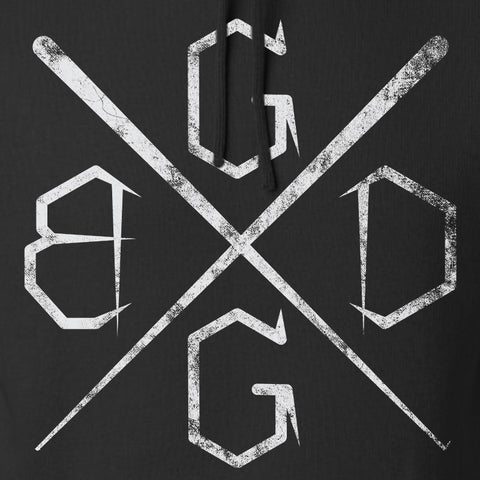 Black Diamond Guns and Gear BDGG Cross Hoodie Hoodies [variant_title] by Ballistic Ink - Made in America USA