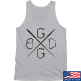 Black Diamond Guns and Gear BDGG Cross Template Tank Tanks SMALL / Light Grey by Ballistic Ink - Made in America USA