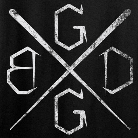 Black Diamond Guns and Gear Ladies BDGG Cross Template T-Shirt T-Shirts [variant_title] by Ballistic Ink - Made in America USA