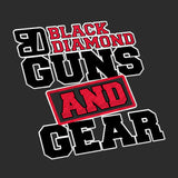 Black Diamond Guns and Gear Black Diamond Guns and Gear Logo Polo Polos [variant_title] by Ballistic Ink - Made in America USA