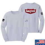 Cheyenne Dalton Team Dalton Long Sleeve T-Shirt Long Sleeve Small / Light Grey by Ballistic Ink - Made in America USA
