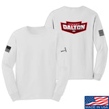 Cheyenne Dalton Team Dalton Long Sleeve T-Shirt Long Sleeve Small / White by Ballistic Ink - Made in America USA