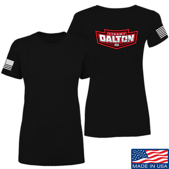 Cheyenne Dalton Ladies Team Dalton T-Shirt T-Shirts SMALL / Black by Ballistic Ink - Made in America USA