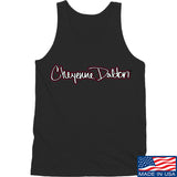 Cheyenne Dalton Cheyenne Dalton Logo Tank Tanks SMALL / Black by Ballistic Ink - Made in America USA