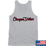 Cheyenne Dalton Cheyenne Dalton Logo Tank Tanks SMALL / Light Grey by Ballistic Ink - Made in America USA