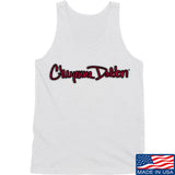 Cheyenne Dalton Cheyenne Dalton Logo Tank Tanks SMALL / White by Ballistic Ink - Made in America USA