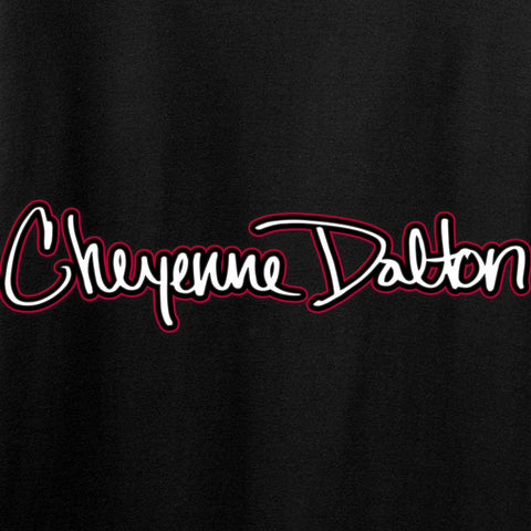 Cheyenne Dalton Ladies Cheyenne Dalton Logo T-Shirt T-Shirts [variant_title] by Ballistic Ink - Made in America USA