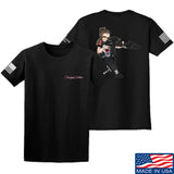 Cheyenne Dalton 2-Sided Cheyenne Dalton Morale T-Shirt T-Shirts Small / Black by Ballistic Ink - Made in America USA