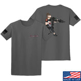 Cheyenne Dalton 2-Sided Cheyenne Dalton Morale T-Shirt T-Shirts Small / Charcoal by Ballistic Ink - Made in America USA
