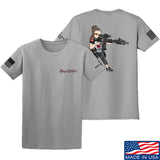 Cheyenne Dalton 2-Sided Cheyenne Dalton Morale T-Shirt T-Shirts Small / Light Gray by Ballistic Ink - Made in America USA