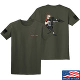Cheyenne Dalton 2-Sided Cheyenne Dalton Morale T-Shirt T-Shirts Small / Military Green by Ballistic Ink - Made in America USA
