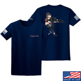 Cheyenne Dalton 2-Sided Cheyenne Dalton Morale T-Shirt T-Shirts Small / Navy by Ballistic Ink - Made in America USA