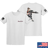 Cheyenne Dalton 2-Sided Cheyenne Dalton Morale T-Shirt T-Shirts Small / White by Ballistic Ink - Made in America USA
